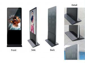 43型屋内液晶看板スタンド型タイプ
