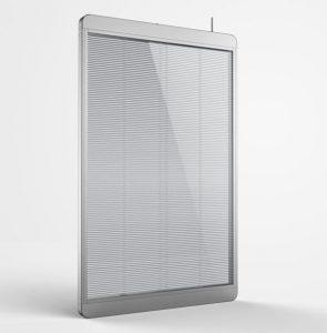 グラスビジョン(Glass Vision) ADポスター 透過型LEDビジョン