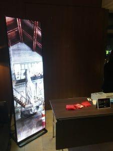 東京都 スペースラボ 様 レンタル スタンド型LEDビジョン