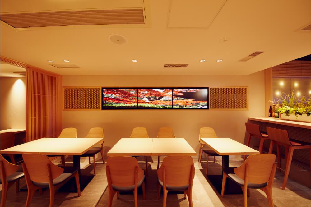 東京都 飲食店様 マルチディスプレイモニター